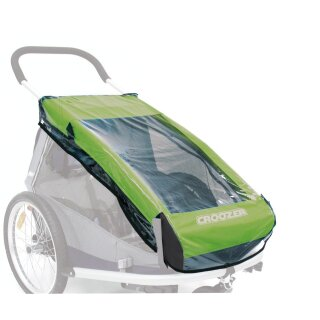 Regenverdeck f.Kinderanh. Croozer 2010 für Croozer 2010 Kid for 2